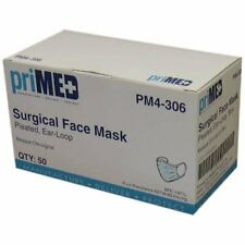 Surgical Mask Level 1 Ear Loop PM4-306 50 Pack Protection Agains